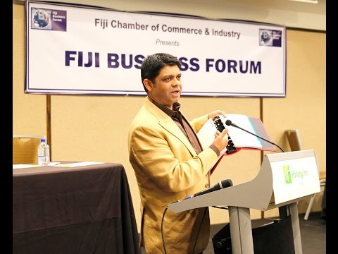 Fijian Minister for Economy at the Fiji Business Forum 2016 Questions & Answers Session.