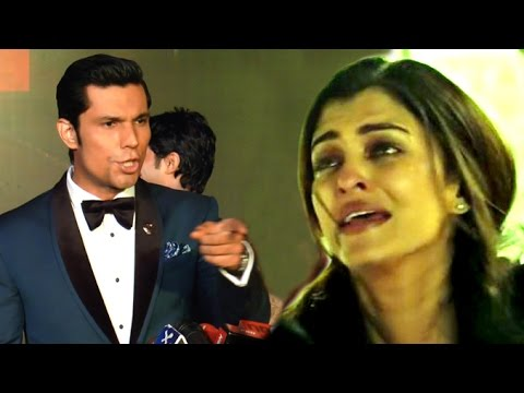 ANGRY Randeep Hooda INSULTS Reporter For Asking About Aishwarya At Sarabjit Movie Premiere