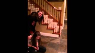 Girl gets surprise visit from sister at college!