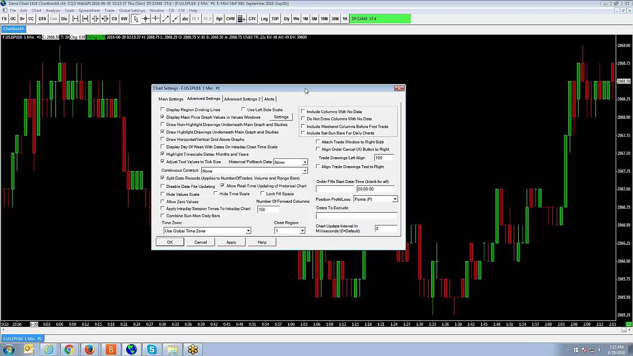 Sierra Chart | How to create continuous contracts