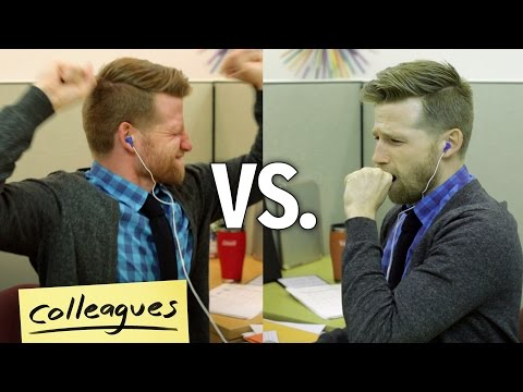 Work Music : How You Feel Vs. How You Look // Colleagues