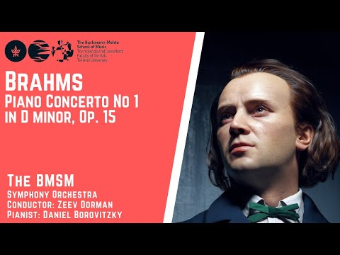 Brahms - Piano Concerto no. 1 in D minor, Op. 15 - The BMSOM Symphony Orchesrta