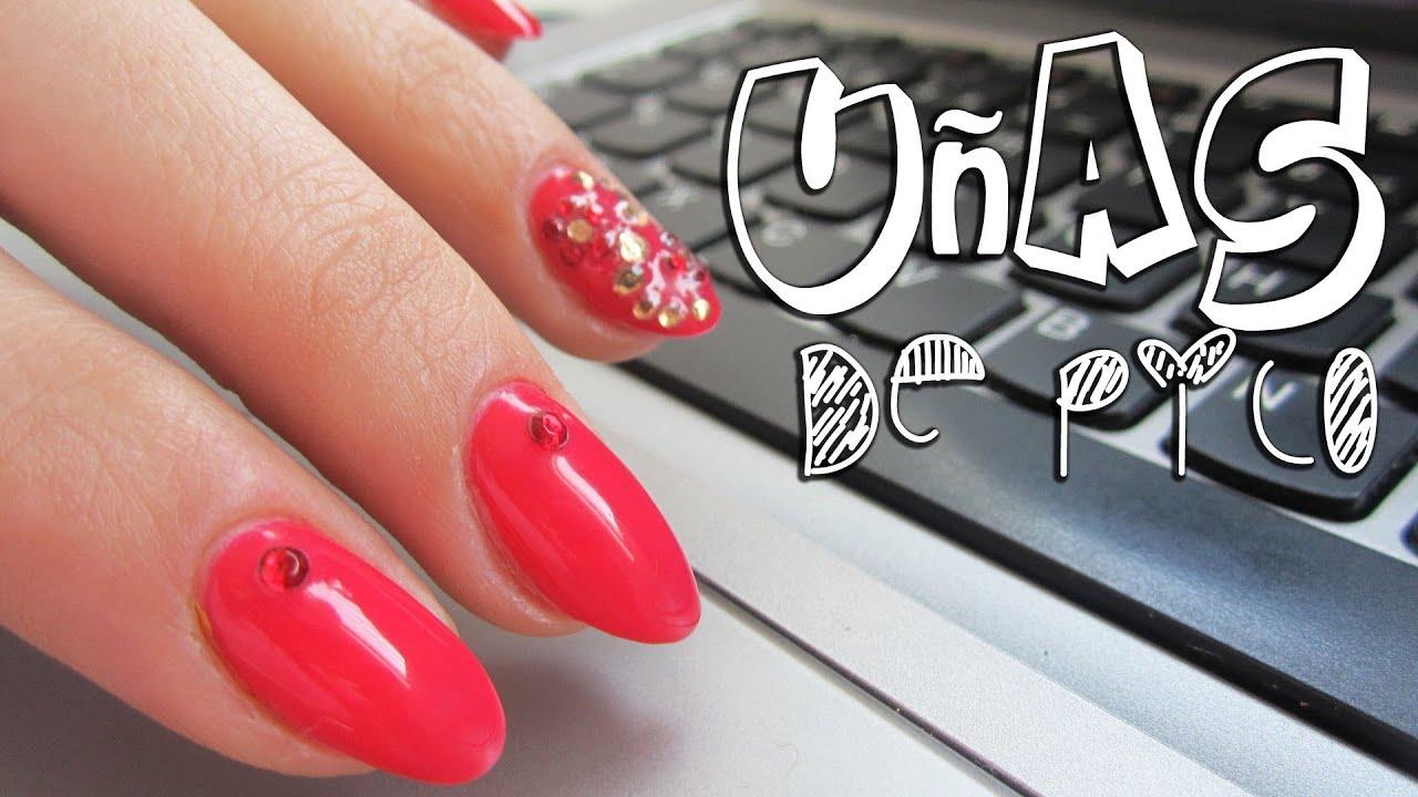 Alarga tus dedos: uñas de pico y uñas redondas - Pretty and Olé ...