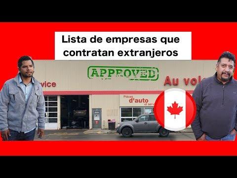 Empresas Que BUSCAN LATINOS Para Trabajar En CANADA