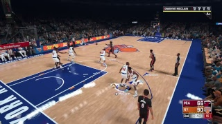 NBA2K18 - My Career - New York KNICKS - SG 89 OVR