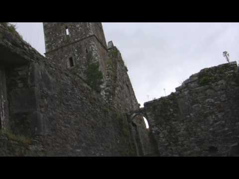 "Kilcrea Friary - ""View with a Tomb"" Co Cork Ireland. Kilcrea Abbey"