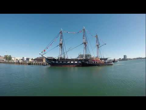 USS Constitution's 220th Anniversary Underway Cruise - October 20, 2017