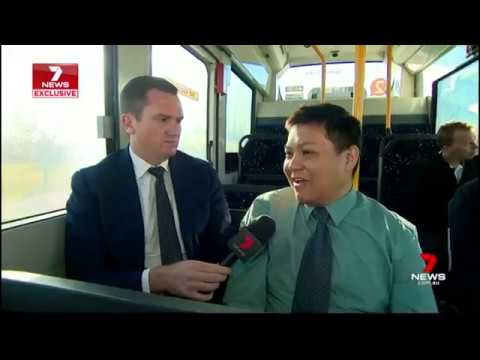 On Demand Buses As Easy As Ordering A Pizza | 7NEWS