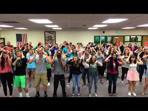 2015 - Yorktown High School (IN) - Kick-Off Program Dance Mash-Up - Full Version