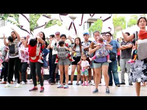Babywearing Moms of Laguna Flashmob 2017