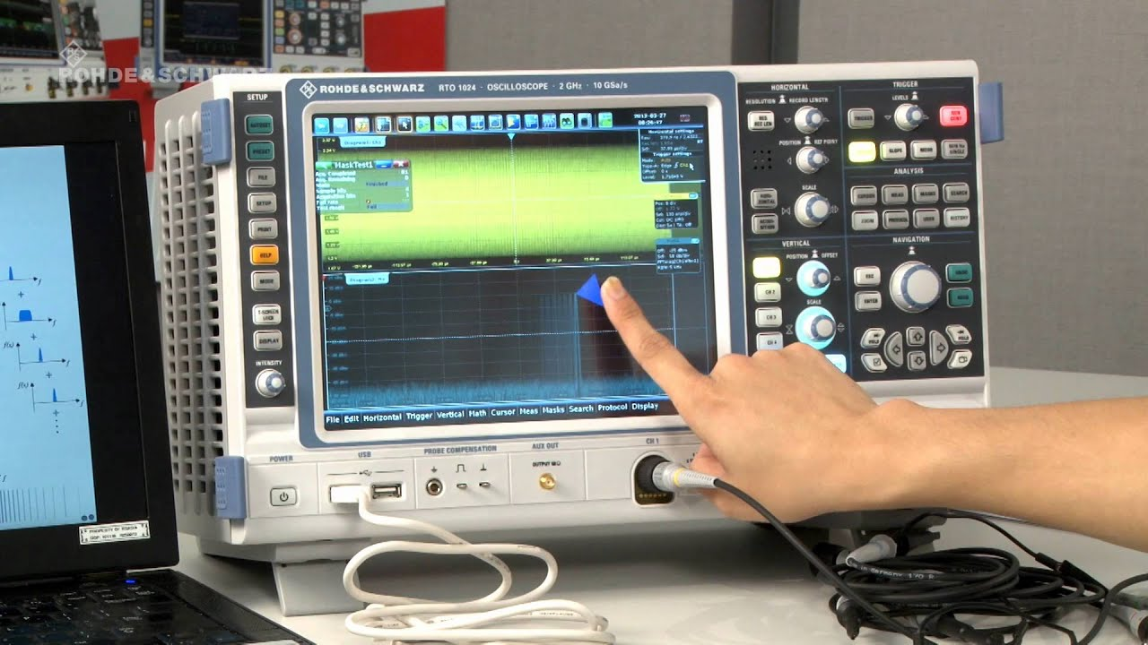 Rsrto Oscilloscope Frequency Analysis Part 2 3 Am And Fm Superlinear Modulator Modulated Signal