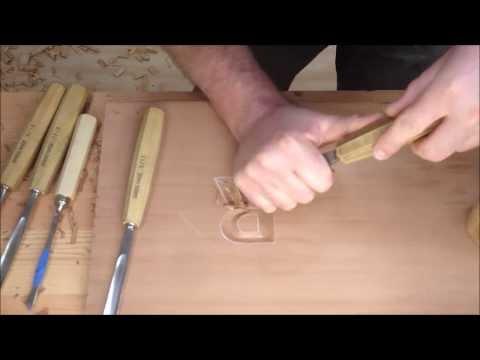 Bench Talk #2 Letter Carving