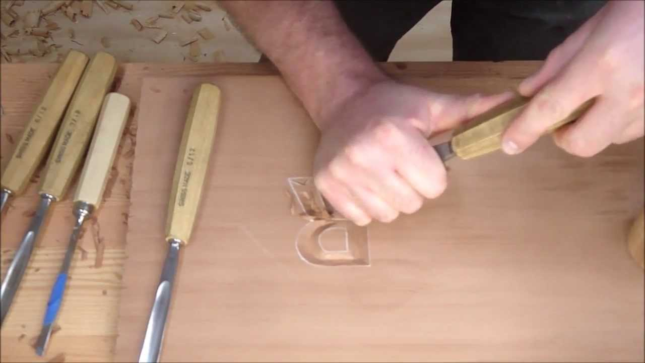 Bench Talk 2 Letter Carving  YouTube