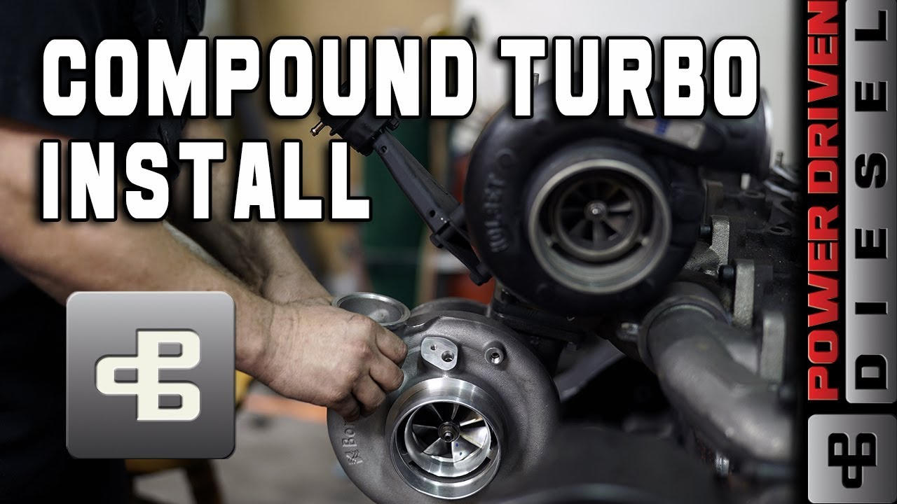 Ultimate Towing Compound Turbo Kit