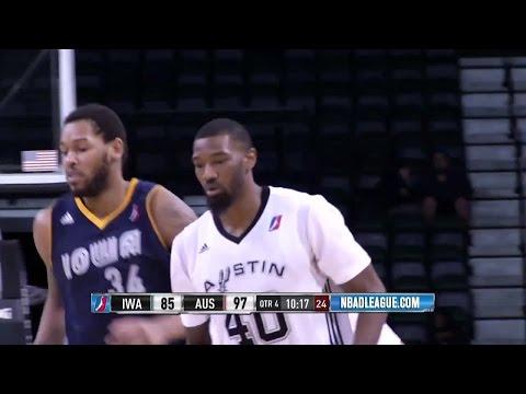 Cory Jefferson posts 25 points & 11 rebounds vs. the Energy, 12/30/2016