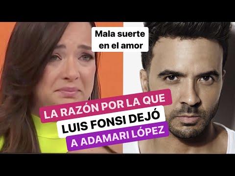 La historia de Adamari López con Luis Fonsi. No creerás la razón por la que él la abandonó.