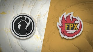 IG vs FPX - SEMIFINALS  GAME 1 - POV Crisp (Nautilus) vs Baolan (Alistar) | World Championship 2019