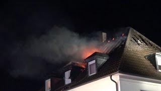 NRWspot.de | Dachstuhlbrand in Wehringhausen – Haus unbewohnbar