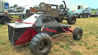 Mud Mania, autoblubbering Lemelerveld 2018