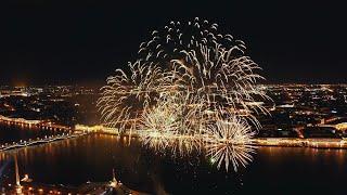 Новогодний салют Санкт Петербург 2020