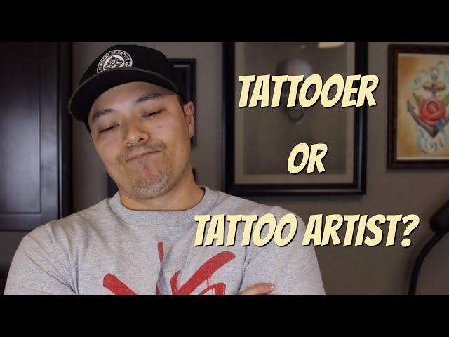 Tattoo Terminology: Tattooer vs Tattoo Artist