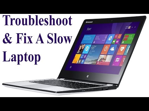 Troubleshoot & Fix a Slow Laptop or Desktop Computer– Part 1