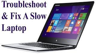 Troubleshoot & Fix a Slow Laptop or Desktop Computer– Part 1