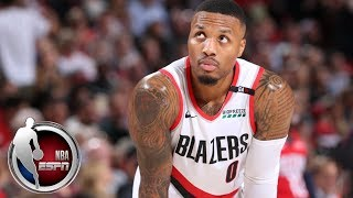 Damian Lillard leads Trail Blazers with 26 points in win vs. Pelicans | NBA on ESPN