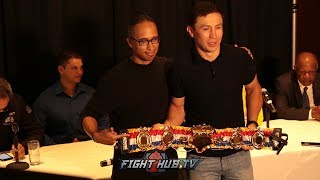Gennady Golovkin gets awarded the Ring Magazine P4P Title