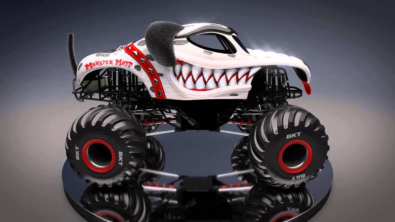 Monster trucks monster mutt