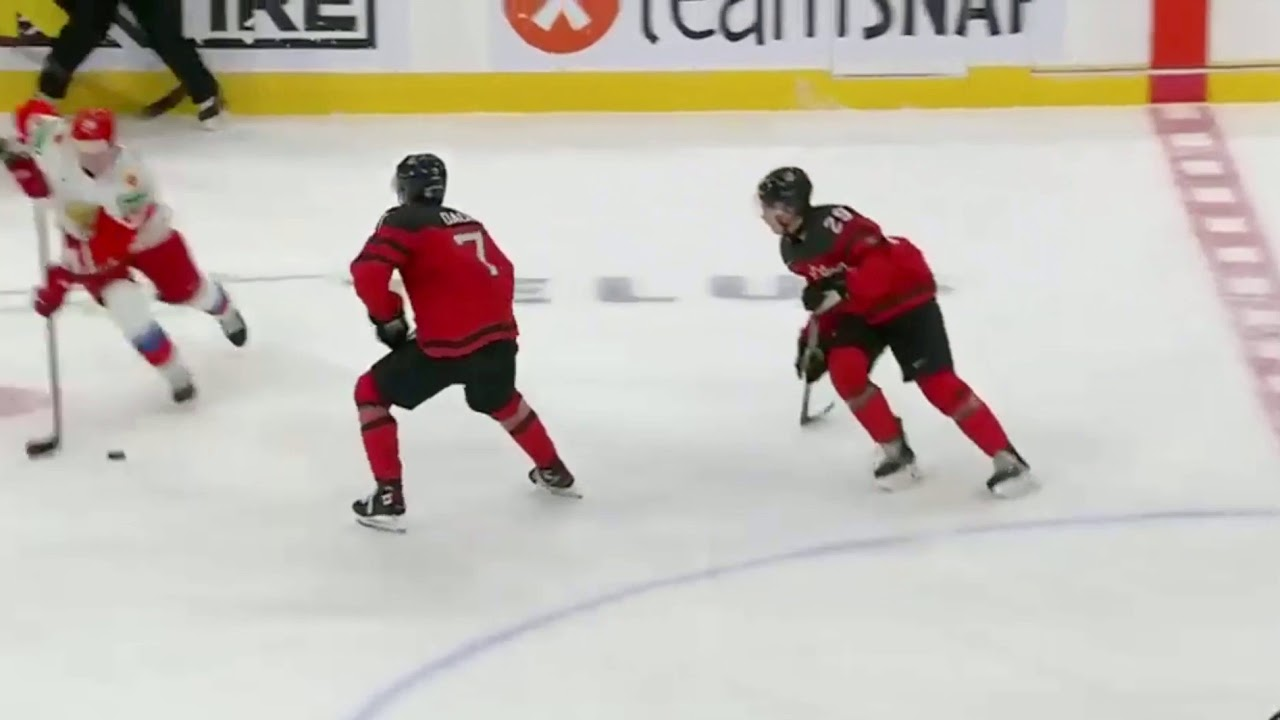 Kirby Dach Injured From Iihf World Juniors 2021 And Does Not Return Youtube