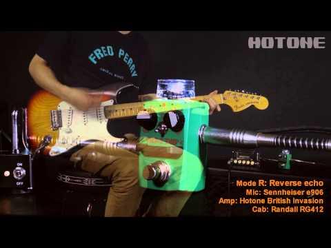 "[Tape Eko] Modeling Tape Delay Pedal Demo - Hotone ""Skyline"" Series Stompbox"