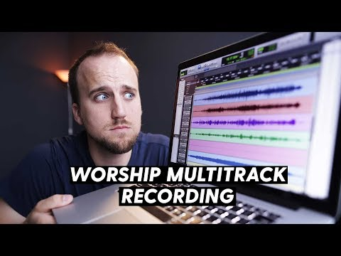 How To Capture A Multitrack Recording Of Your Worship Band | X32 And ProTools Tutorial