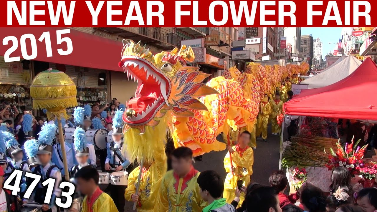 chinese new year flower fair 2015 san francisco mini procession ribbon cutting ceremony youtube - Chinese New Year Sf