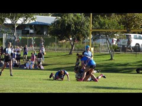 Norths vs Kawana/Bribie 9s U18 Girls 2017