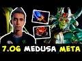 Sumail Aghanim Medusa — new 7.06 imba