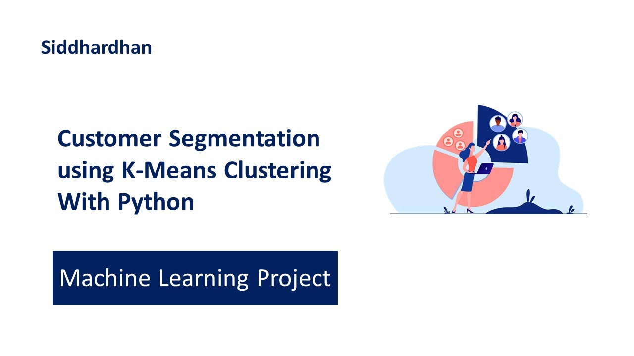 Customer Segmentation using K-Means Clustering with Python | Machine Learning Projects 13