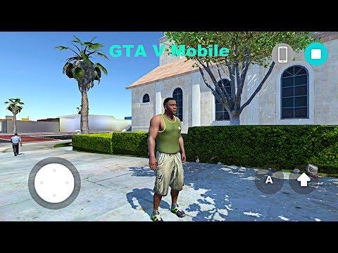 Demo Version GTA V Mobile On Android