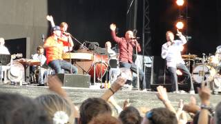 Die Fantastischen Vier - Danke (Unplugged) - live @ Zurich Openair 26.8.2012