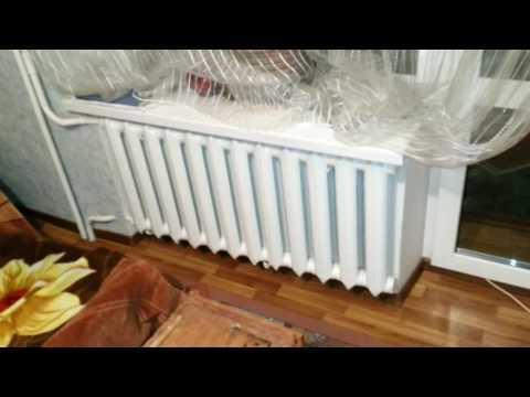 Влияние ширины подоконника  на температуру в помещении при радиаторном отоплении!!!