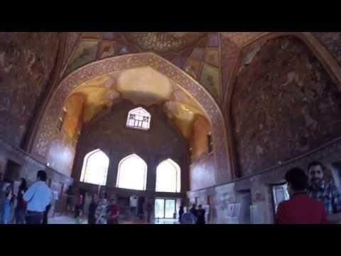 Cehel Sütun Sarayı, İsfahan - İran