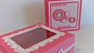 Scrapbook Baby Girl Album - Album da Mafalda