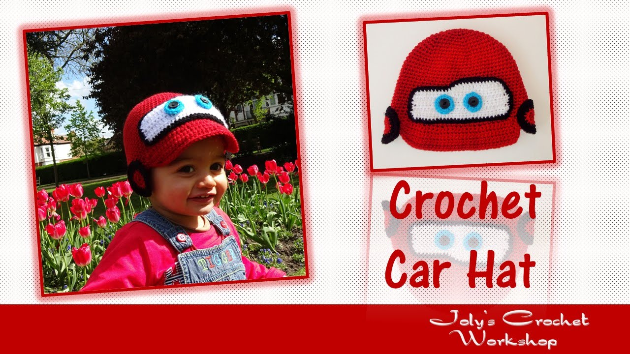 How to crochet car hat youtube how to crochet car hat bankloansurffo Choice Image
