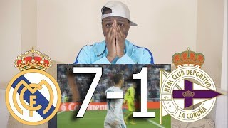 Barcelona Fan React To  Real Madrid VS Deportivo 7-1  All Goals  Highlights
