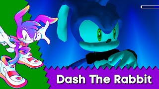 Sonic From Another Dimension? Dash The Rabbit (An unused concept for sonic) In Sonic Adventure 2