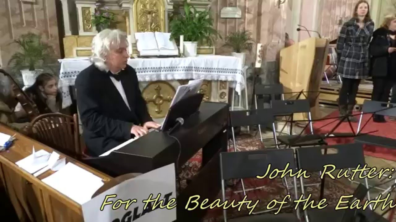 john rutter for the beauty of the earth pdf