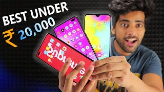Top 5 Smartphone under Rs 20,000 !! 🔥 *April 2020*