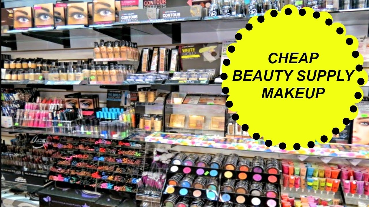 beauty supply store makeup - 💖Cheap Beauty Supply Store Makeup - YouTube