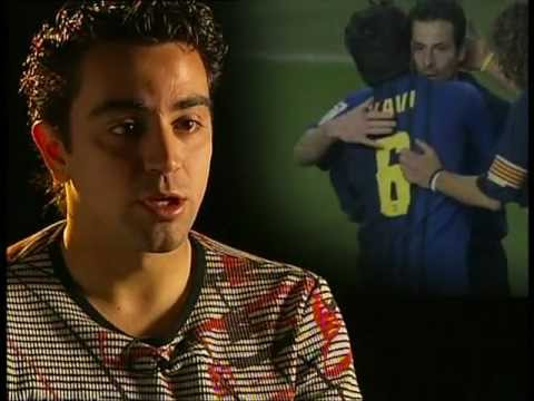 FC BARCELONA - GIULY & MAXI LOPEZ SOCCER LESSONS (1/4)