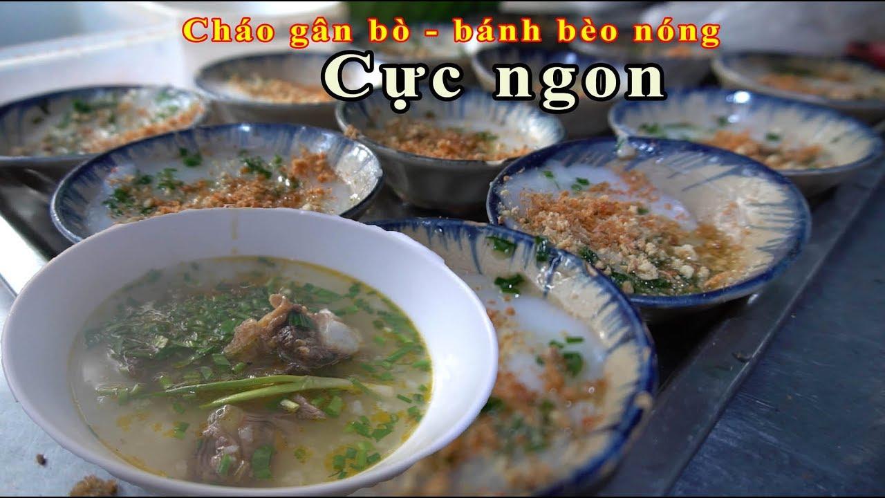 Cháo gân bò, bánh bèo chén nóng hổi, đặc sản miền Trung hiếm có ở Sài Gòn